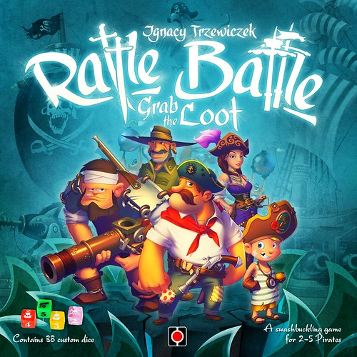 002 - Portal Games: Rattle, Battle Grad the Loot