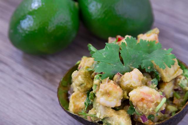 Shrimp Avocado Bowl-369