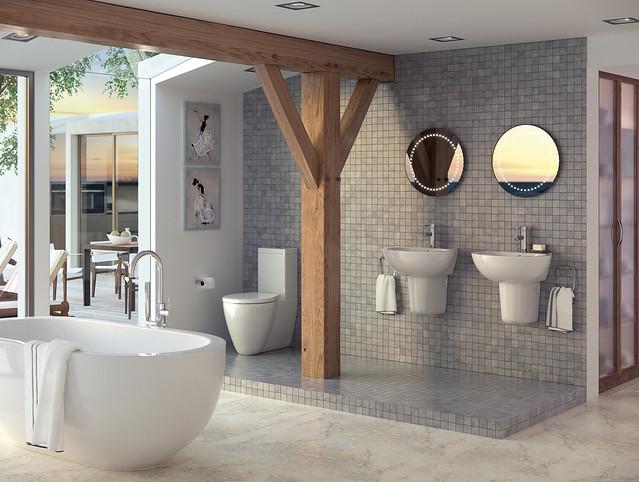 Badezimmer trends 2018 gesund smart und individuell for Trends badezimmer