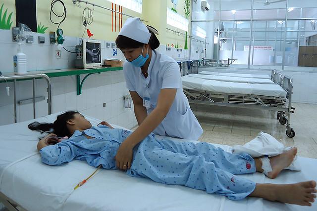 Phẫu thuật cắt giãn ống mật cho bệnh nhi có 3 ống gan
