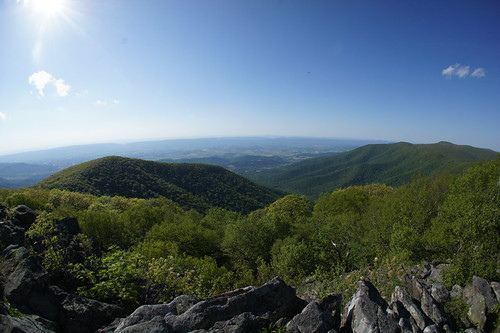 View from Hawksbill Summit