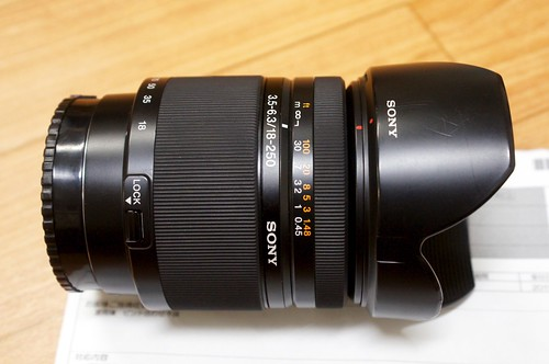 カメラレンズの修理