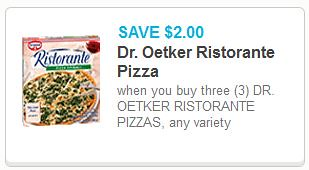 Dr. Oetker Ristorante Pizza at Meijer