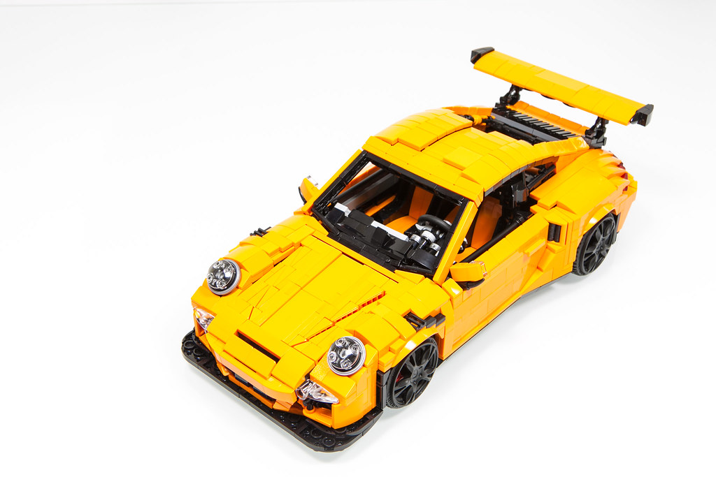 lego porsche 911 gt3 rs 991 2016 lego ideas project. Black Bedroom Furniture Sets. Home Design Ideas