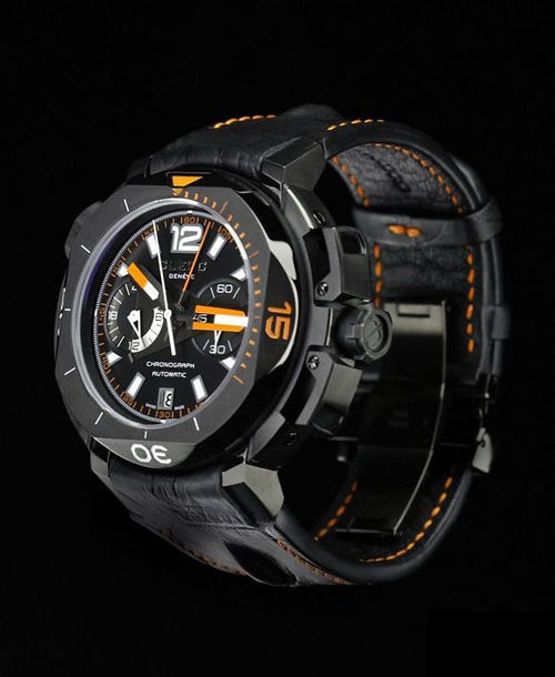 Clerc Hydroscaph Limited Edition automatic Chronograph Watch
