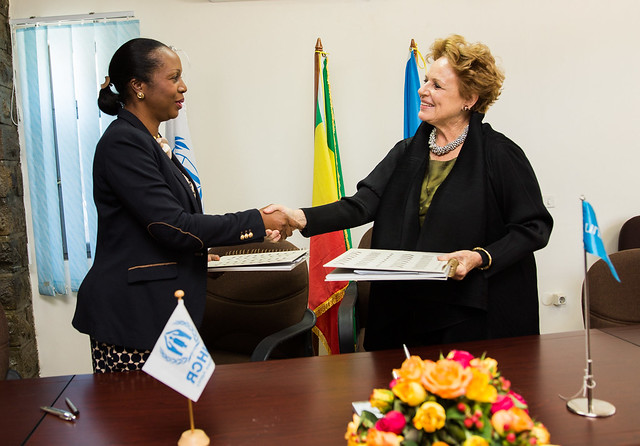 UNHCR and UNICEF agree to reinforce their commitment to respond to refugees and host communities in Ethiopia