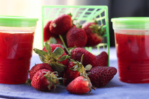 Strawberry Freezer Jam | by niftyfoodie