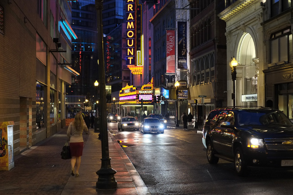 Night Shot Boston Fuji X Pro 1 With Fujinon 35mm 1 4 Flickr