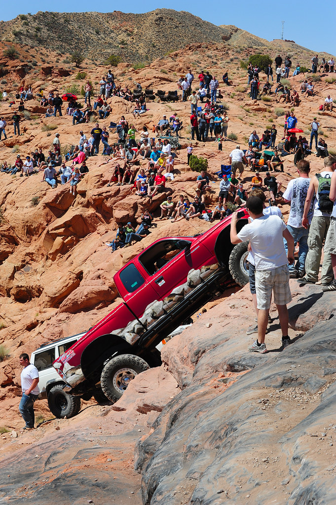 New Toyota Tacoma >> Toyota Tacoma Potato Salad Hill at Moab Easter Jeep Safari… | Flickr