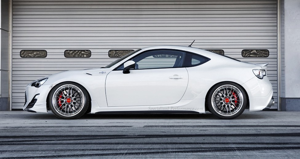 Trd Toyota 86 Frs Brz Bbs Lm Photoshop Specialized