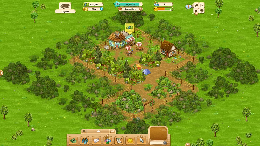 Goodgame Big Farm Gourmet Farm 29th May L46 44 630xp