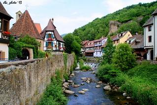Kayserberg, Francia. Pueblos pintorescos europeos