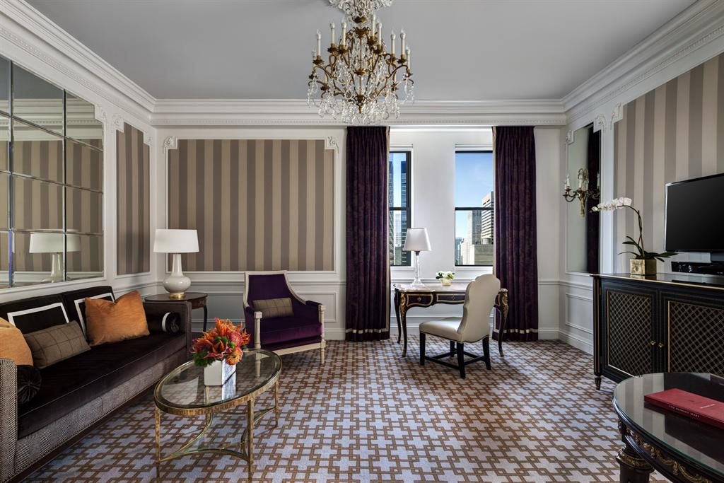 The st regis new york madison suite living room madison for The family room troy ny