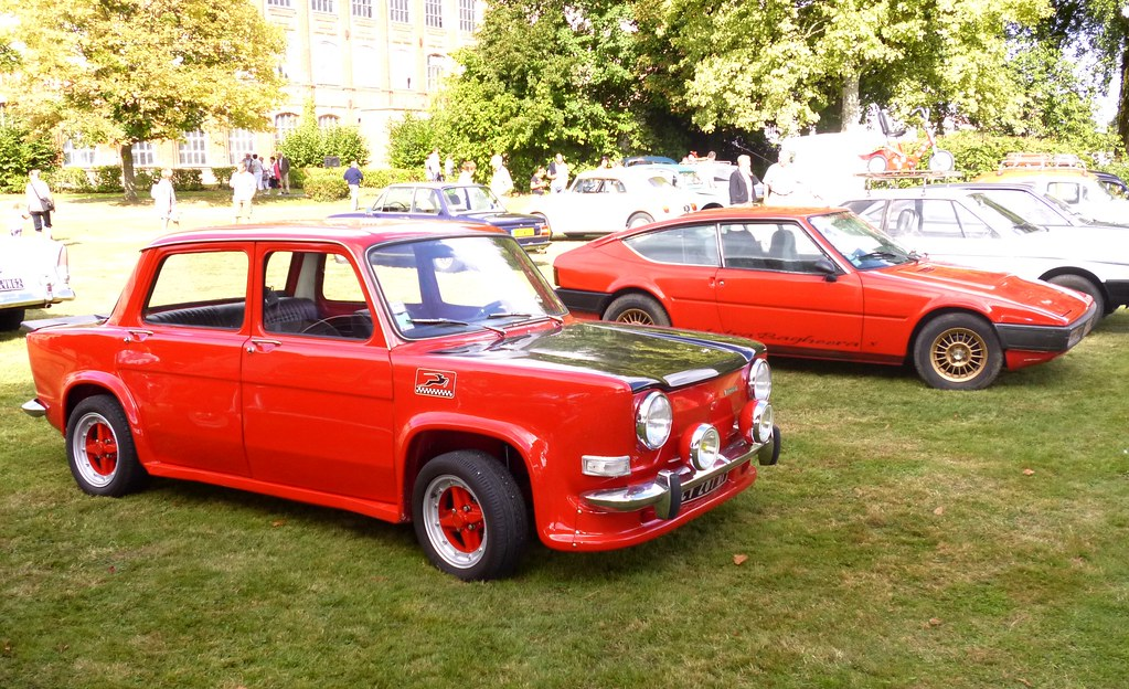simca rallye 2 et matra bagheera rouges rassemblement de v flickr. Black Bedroom Furniture Sets. Home Design Ideas