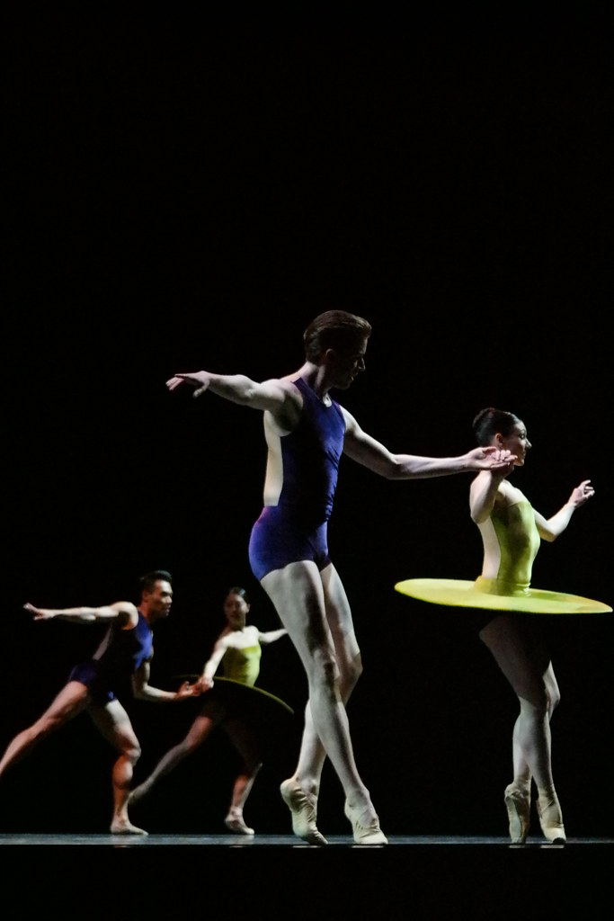 Boston Ballet's - Thrill of Contact - The Vertiginous Thrill of Exactitude