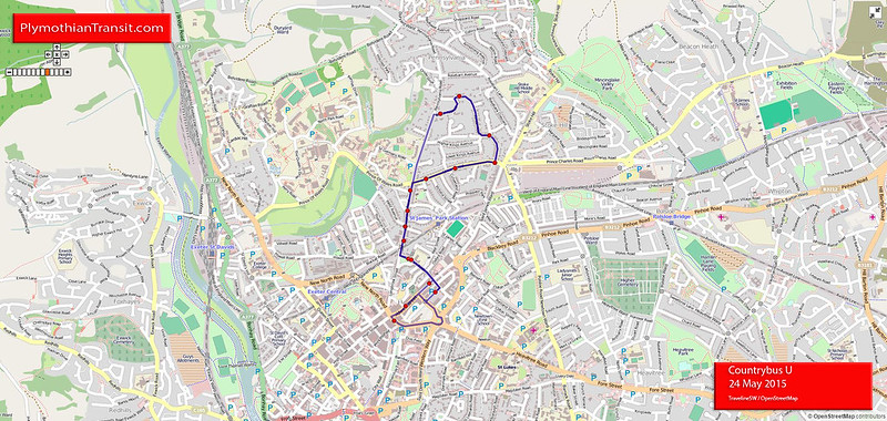 U Exeter - Union Road Circular