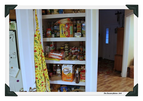 New Pantry Inside
