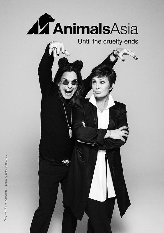 Ozzy and Sharon Osbourne ANIMALS ASIA 2015 copy