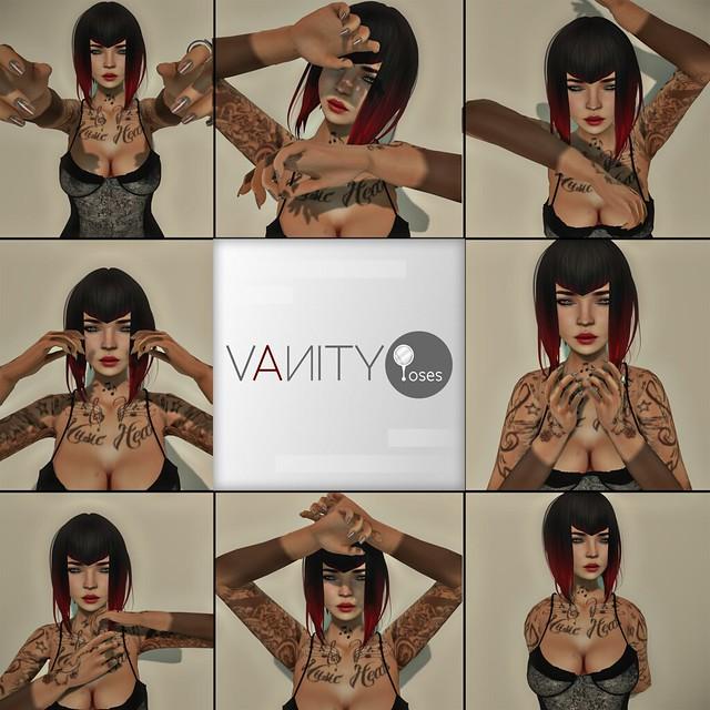 Vanity Poses - Close