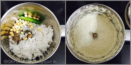 Kohlrabi Kootu-preparation step 2
