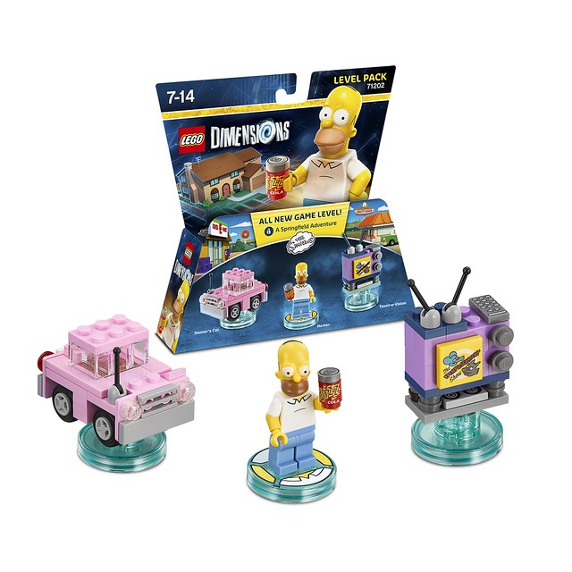 LEGO Dimensions Amazon: 71202 - The Simpsons Homer Level Pack