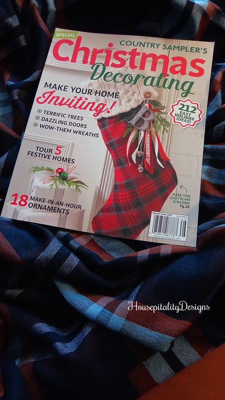 Country Sampler Christmas Decorating Magazine Feature - Housepitality Designs