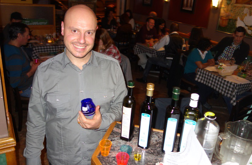Angelo Tramonti at Sarafino Olive Oil in Toronto