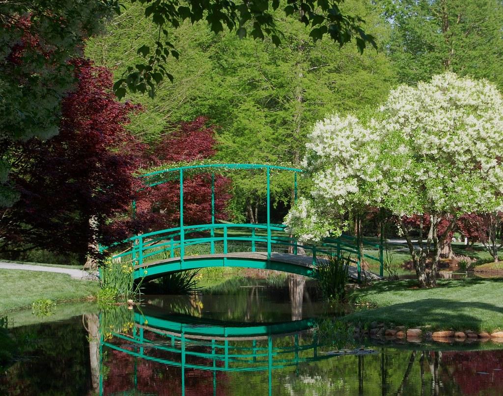 How Many Miles From >> The Monet Bridge at Gibbs Gardens - Ball Ground, Georgia ...
