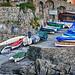 Sleeping fishing boats