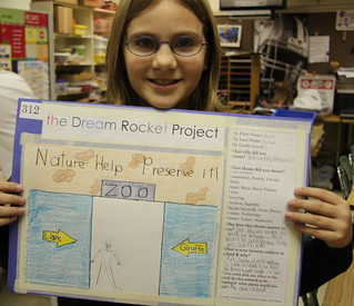 Created by St. Mary's Elementary School in St. Mary's, Kansas AND Rossville Grade School in Rossville, Kansas | by The Dream Rocket Project