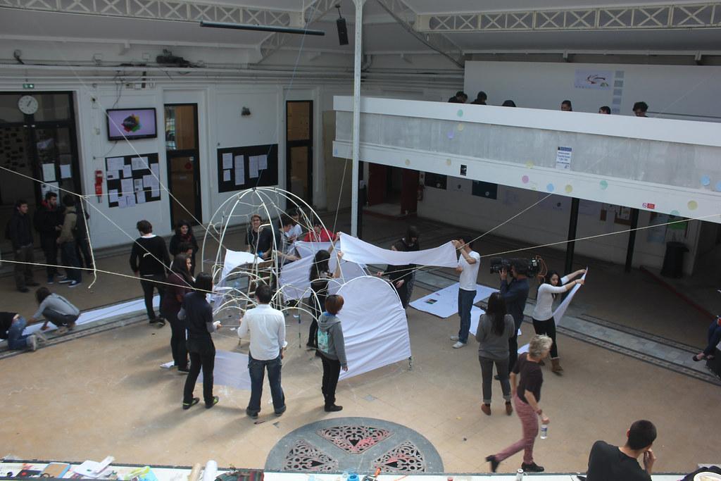 Social architecture experiment ecole speciale d 39 architect for Ecole decorateur interieur paris
