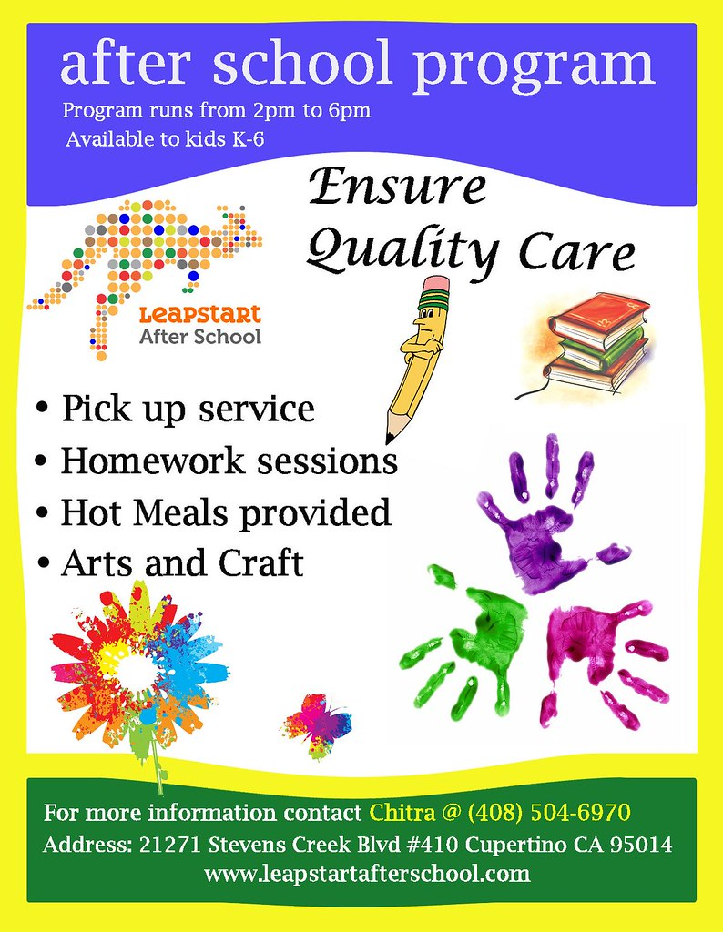 examples of daycare flyers