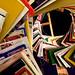 Swirl of books