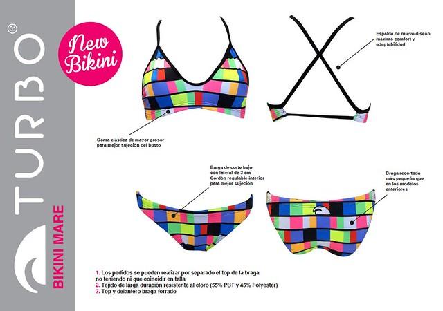 Nuevo bikini deportivo: Turbo Mare