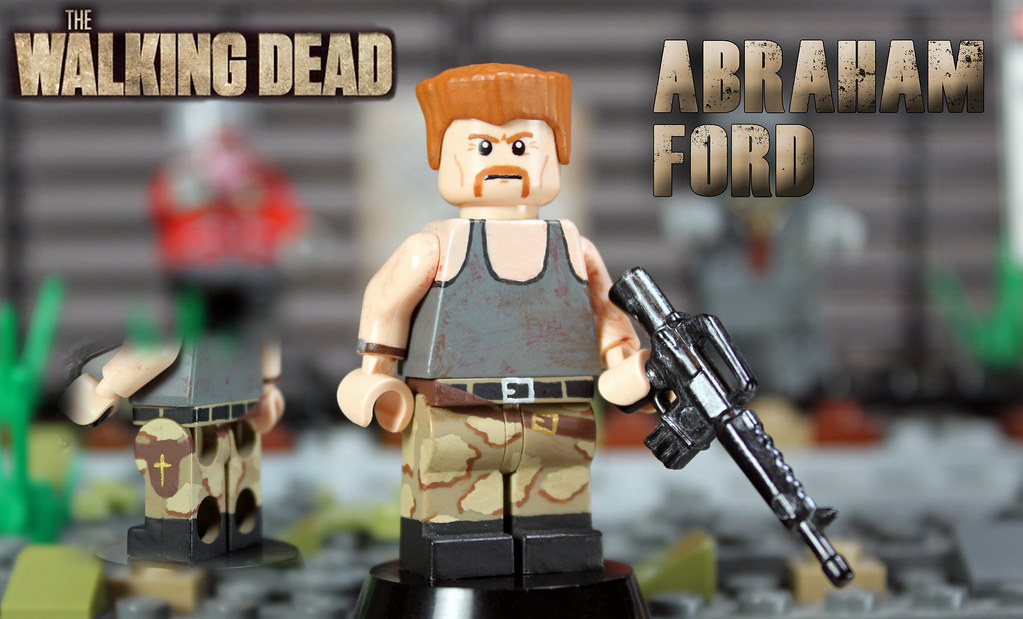 Custom Lego The Walking Dead Abraham Ford Quot Simply Put