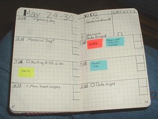 may 2015 bujo new layout new week