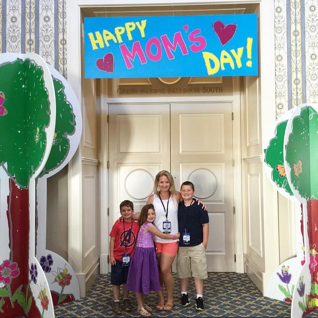 Such an amazing Mother's Day weekend at Walt Disney World Resort. #missingtwokids #DisneySMMC #MothersDay