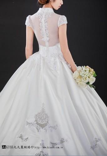 高雄推薦婚紗攝影-高雄kiss99麗緻婚紗告訴大家2015春季婚紗的流行趨勢new (2)