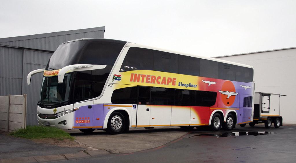 Intercape Sleepliner Volvo B12r Marcopolo Paradiso 1800 D