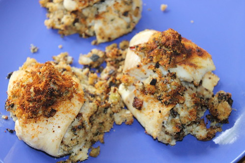 Crab-Stuffed Tilapia