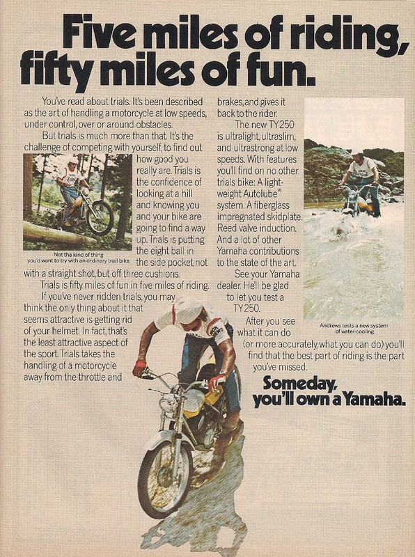 Yamaha TY250 Mick Andrews 2