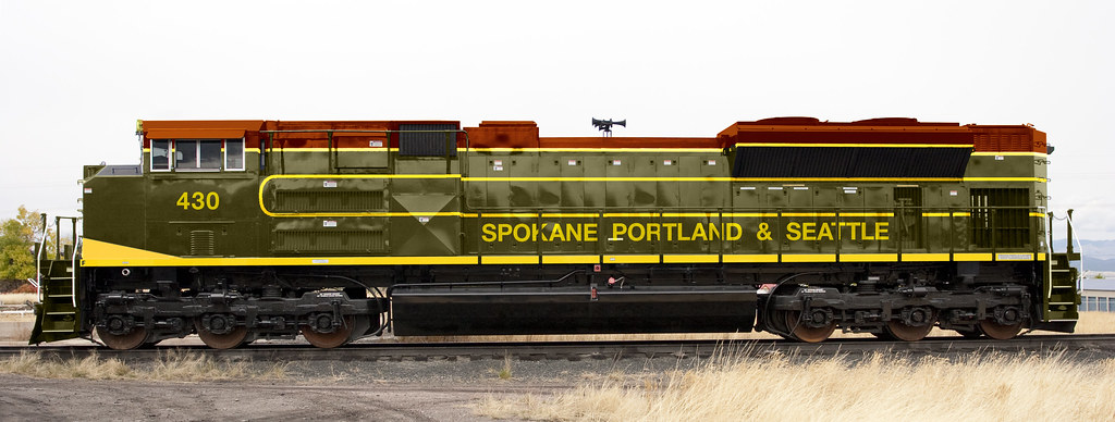 Sp Amp S Sd70ace Side Another Bnsf Heritage Photoshop Job I