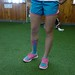 KT Tape on Field Hocky player&track sprinter Jessice Pereira