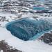 Frozen Greenland Meltpond