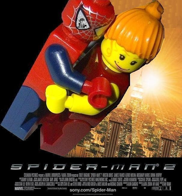 Lego spider man 2 poster made by yours truly xxdeadmanzz flickr - Lego spiderman 2 ...