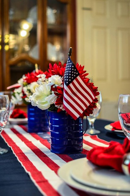 Fourth Of July Table Decor Flickr Photo Sharing