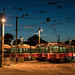 streetcars at rest