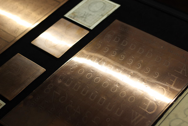 Feuille de cuivre pour typographes flickr photo sharing for Feuille de cuivre toiture