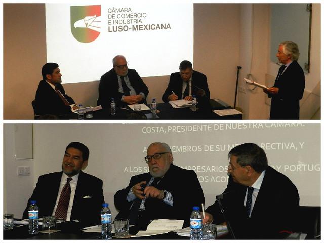 Asamblea General Ordinaria de la Cámara de Comercio e Industria Luso-Mexicana (CCILM), Portugal
