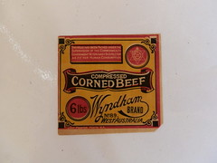 Old Label from Wyndham Meatworks